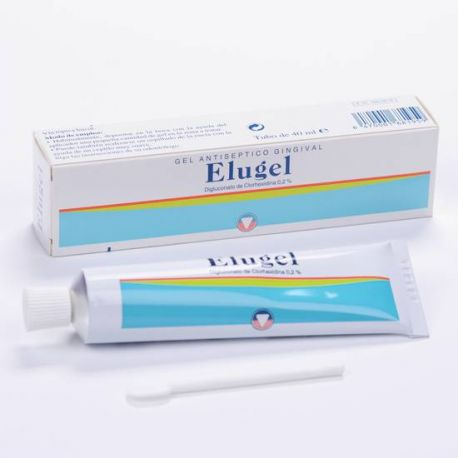 ELUGEL ANTISEPTICO GINGIVAL 40 ML