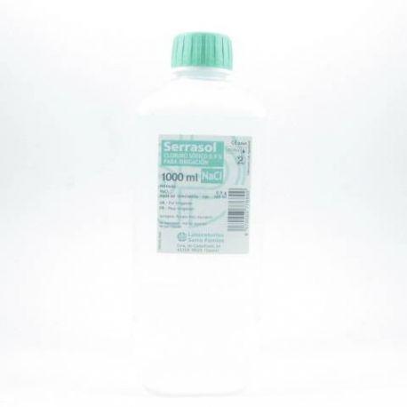 CLORURO SODICO 0,9% IRRIGACION SERRASOL 1 L
