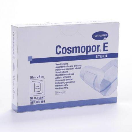 COSMOPOR E APOSITO ESTERIL 10 X 8 CM 10 U