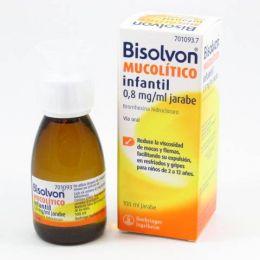 BISOLVON MUCOLITICO INFANTIL 0.8 MG/ML JARABE 100 ML