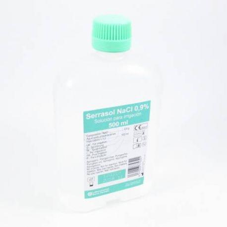 CLORURO SODICO 0,9% IRRIGACION SERRASOL 500 ML