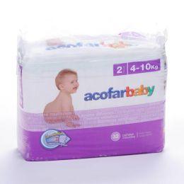 ACOFARBABY PAÑAL INFANTIL T- 2 4-10 KG 32 U