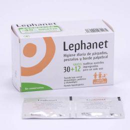 LEPHANET TOALLITAS ESTERILES 30 TOALLITAS