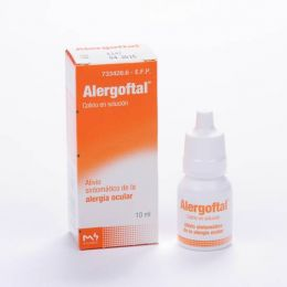 ALERGOFTAL 5/0.25 MG/ML COLIRIO 1 FRASCO SOLUCION 10 ML