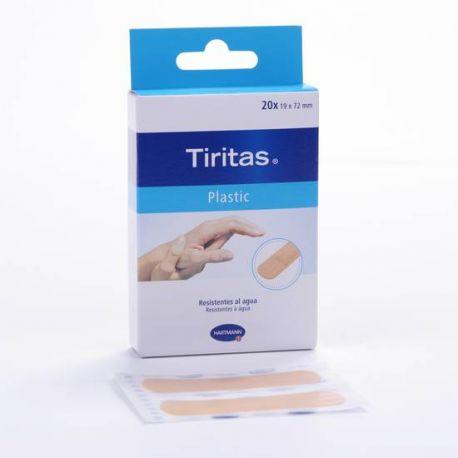 TIRITAS PLASTIC APOSITO ADHESIVO 19 X 72 20 U
