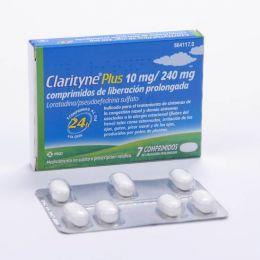CLARITYNE PLUS 10/240 MG 7 COMPRIMIDOS LIBERACION PROLONGADA