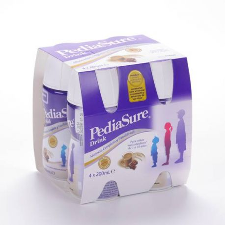 PEDIASURE DRINK 200 ML 4 U CHOCOLATE