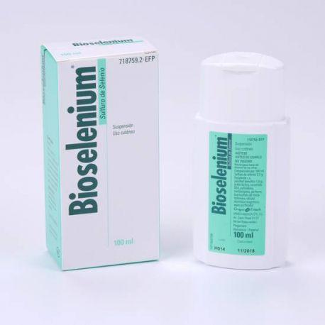 BIOSELENIUM 25 MG/ML SUSPENSION TOPICA 100 ML