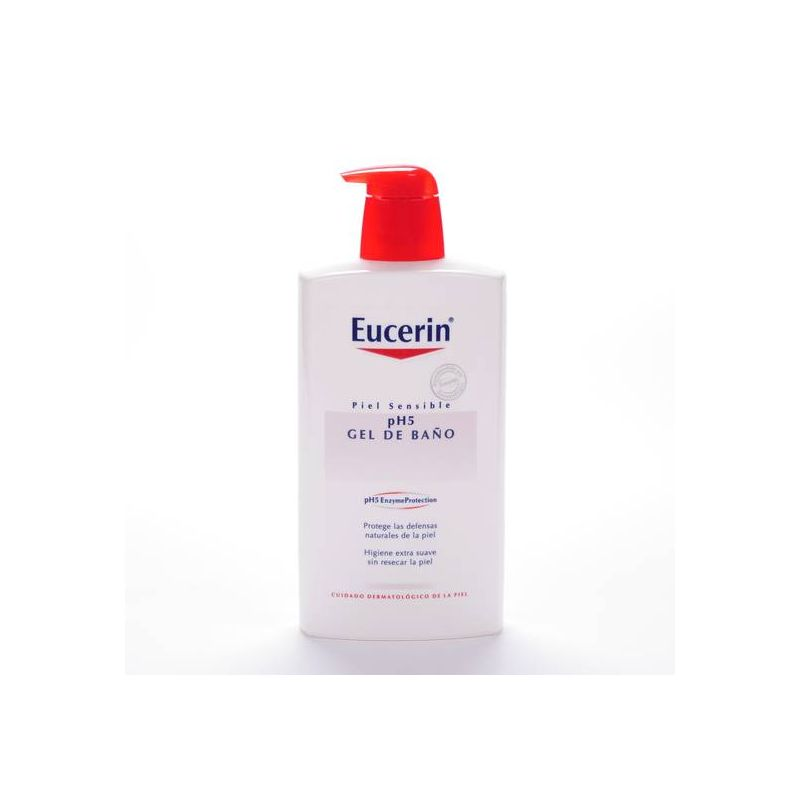 Eucerin piel sensible ph 5 gel de ba o 1 l openfarma nos encanta aconsejar - Eucerin gel de bano ...