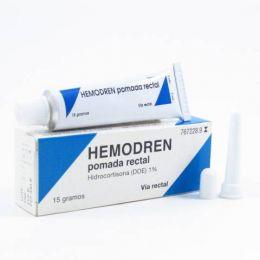 HEMODREN RECTAL 10 MG/G POMADA RECTAL 15 G