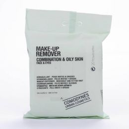 COMODYNES MAKE UP REMOVER COMBINATION OILY SKIN CONVENIENT COSMETICS 20 TOALLITAS