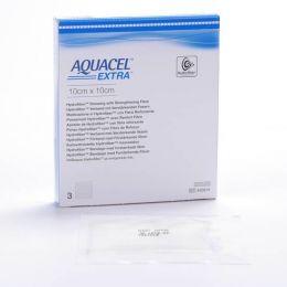 AQUACEL EXTRA APOSITO ESTERIL HIDROCOLOIDE 10 X 10 CM 3 U