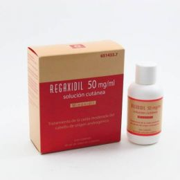 REGAXIDIL 50 MG/ML SOLUCION CUTANEA 1 FRASCO 60 ML
