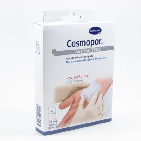 COSMOPOR  ANTIBACTERIAL APOSITO ESTERIL 10 X 8 CM  5 U