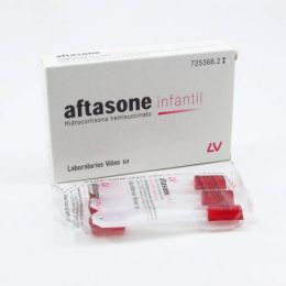 AFTASONE INFANTIL 1.5 MG 12 PASTILLAS PARA CHUPAR