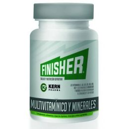 FINISHER MULTIVITAMINICO Y MINERALES 60 CAPS