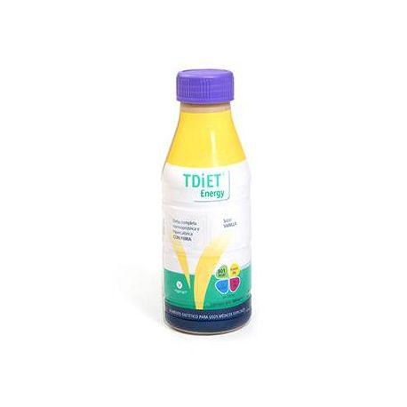 TDIET ENERGY VAINILLA (ANTES T-DIET PLUS ENERGY) 12 BOTELLA VAINILLA 500 ML