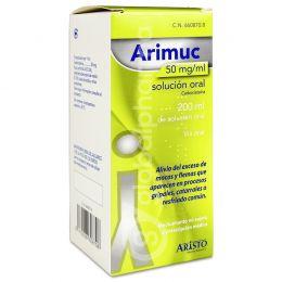 ARIMUC 50 MG/ML SOLUCION ORAL 200 ML