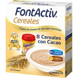 FONTACTIV 8 CEREALES   CACAO 600 G
