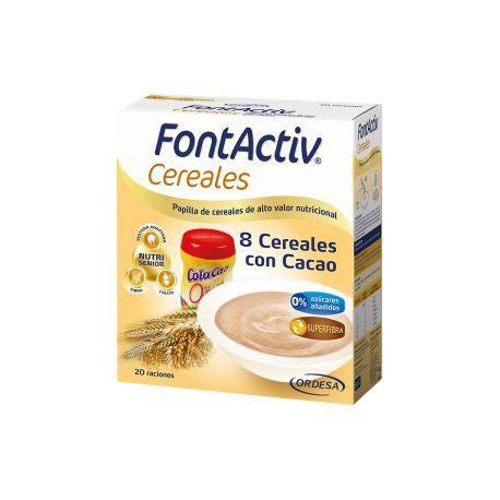 FONTACTIV 8 CEREALES   CACAO 600 G
