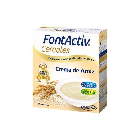 FONTACTIV 8 CEREALES   CREMA DE ARROZ 600 G