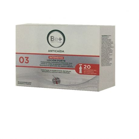 BE  ANTICAIDA LOCION FORTE 20 X 5 ML