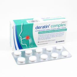 DERATIN COMPLEX 30 COMPRIMIDOS PARA CHUPAR MENTA