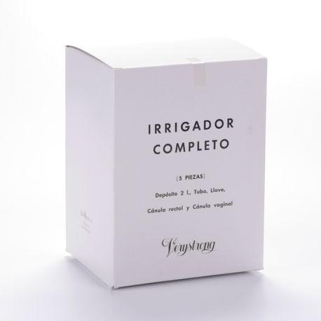 IRRIGADOR ANAL COMPLETO VERYSTRONG CANULA RECTAL Y VAGINAL 2 L 5 PIEZAS