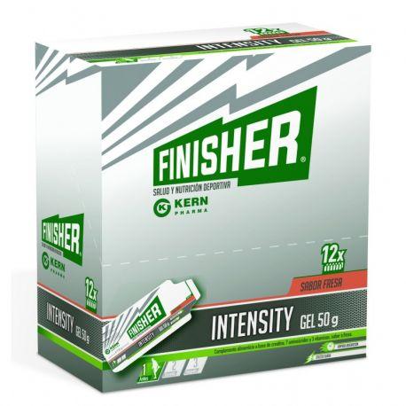 FINISHER INTENSITY GEL 50 G 12 SOBRES