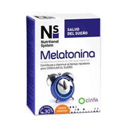 CINFA N+S MELATONINA 30 COMPRIMIDOS MASTICABLES