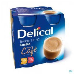 DELICAL EFFIMAX 2.0 200 ML 24 BOTELLA CAFE