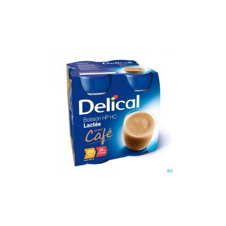 DELICAL EFFIMAX 2.0 200 ML 24 BOTELLA CAFE