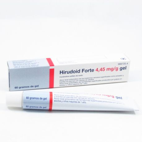 HIRUDOID FORTE 4.45 MG/G GEL TOPICO 60 G