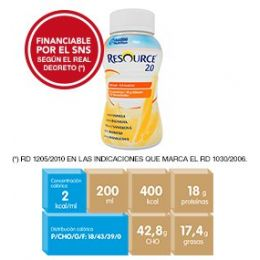 RESOURCE 2.0 VAINILLA 24X200ML