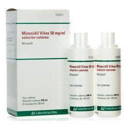 MINOXIDIL VIÑAS 50 MG/ML SOLUCION CUTANEA 2 FRASCOS 120 ML