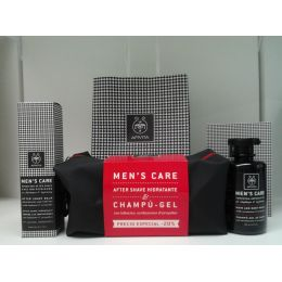 APIVITA NECESER HOMBRE CHAMPU-GEL+AFTER SHAVE