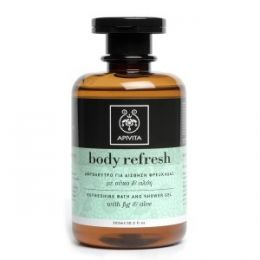 APIVITA BODY REFRESH GEL DE BAÑO REFRESCANTE HIGO Y ALOE 300 ML