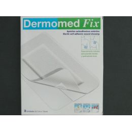DERMOMED FIX APOSITO ESTERIL AUTOADH 9 X 15 CM 3 U