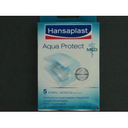 HANSAPLAST MED AQUA PROTECT CON GASA APOSITO ESTERIL 6 X 7 CM  5 U