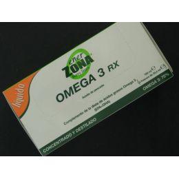 ENERZONA OMEGA 3RX ACEITE DE PESCADO 33,3 ML 3 FRASCOS
