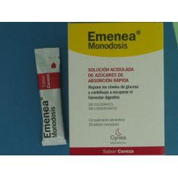 EMENEA SOBRES MONODOSIS CEREZA 10 ML 20 SOBRES