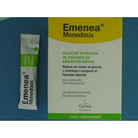 EMENEA SOBRES MONODOSIS LIMA LIMON 10 ML 20 SOBRES