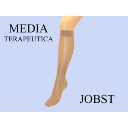 MEDIA CORTA (A-D) COMP NORMAL 140 DEN JOBST MEDICAL LEGWEAR BEIGE CLARO T-3
