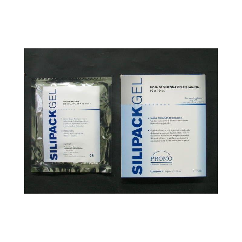 Silipack gel ioox lamina silicona 10 x 10 cm openfarma for 10 x 10 x 10