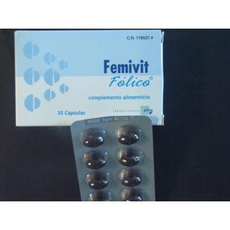FEMIVIT FOLICO 30 CAPS