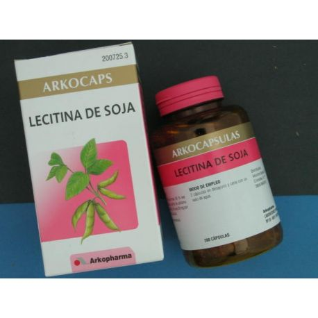 LECITINA DE SOJA ARKOCAPS 400 MG 200 CAPS