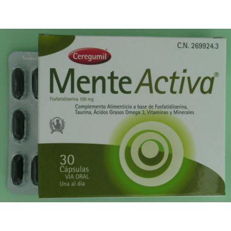 CEREGUMIL MENTE ACTIVA 30 CAPS