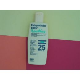 ISDIN FOTOPROTECTOR PEDIATRICO F 25 200 ML