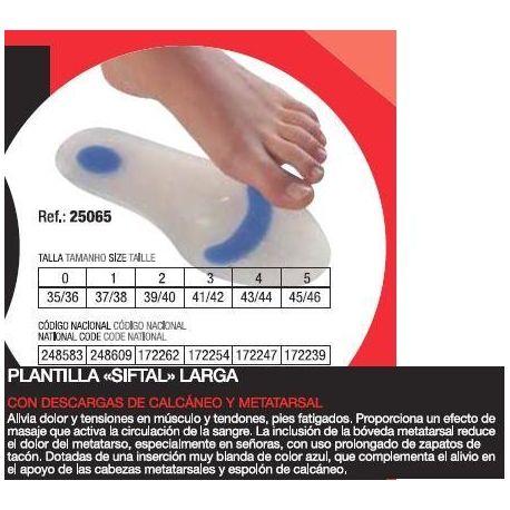 PLANTILLAS SIFTAL HYDROGEL VARISAN LARGA 45/46 T-5