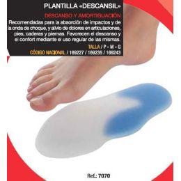 PLANTILLAS SILICONA HYDROGEL VARISAN DESCANSIL T- GDE